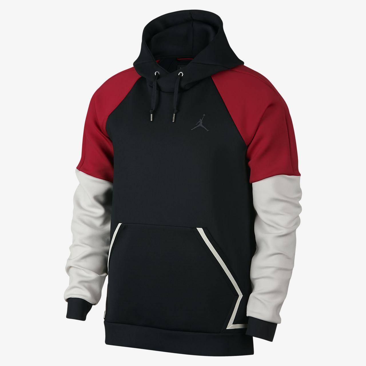 Jordan Sportswear Flight Tech Diamond Men s Pullover Hoodie. Nike.com GB edbb3f33cc01
