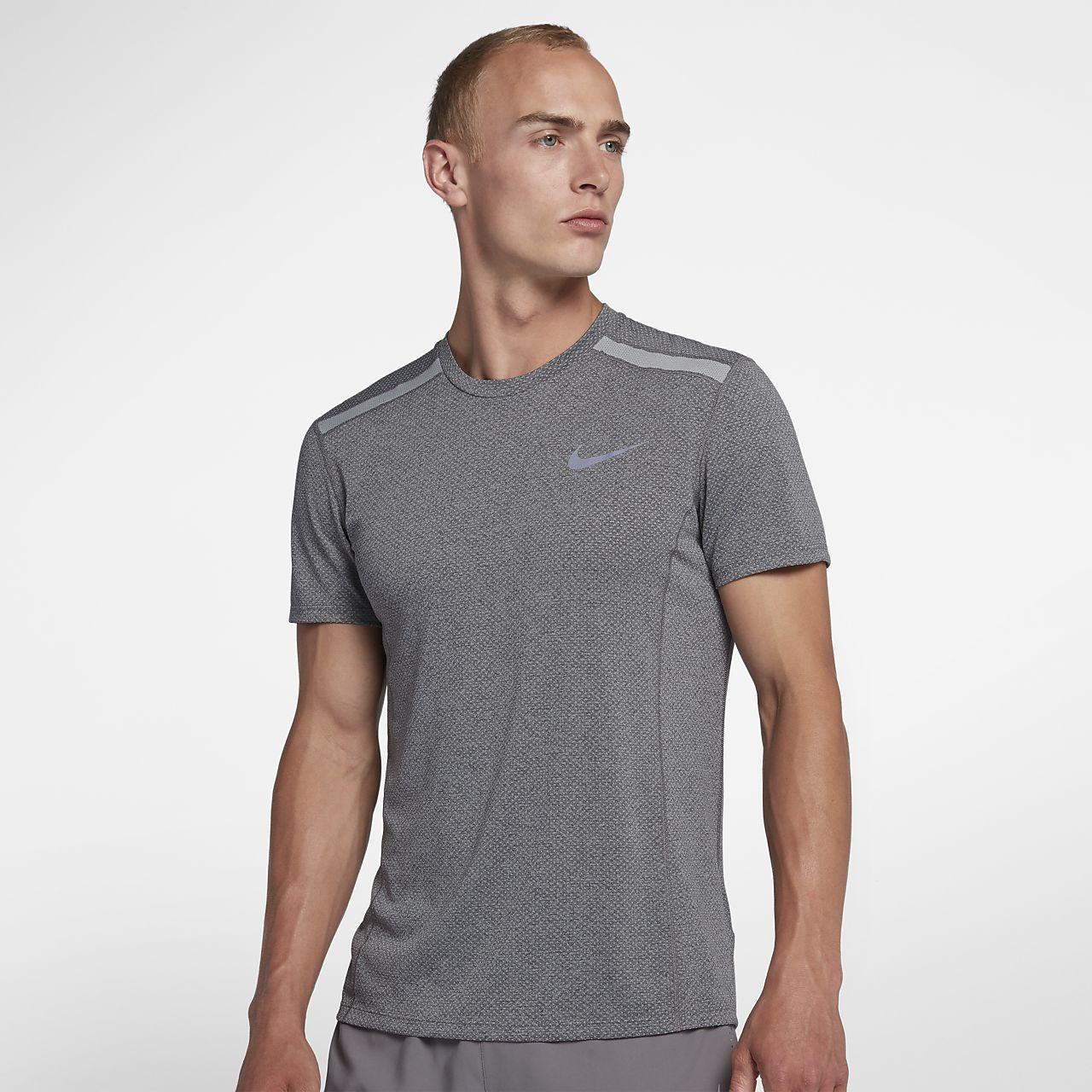 ef6f3df0f631f Nike Dri-FIT Miler Cool Men's Short-Sleeve Running Top. Nike.com GB