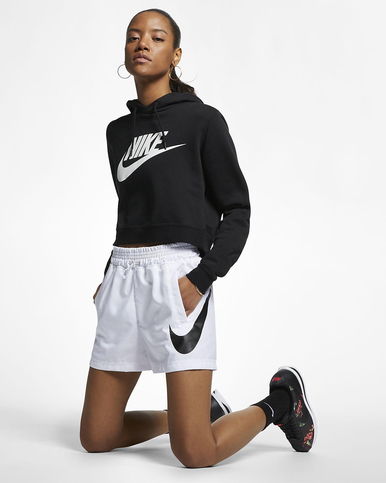 Damskie spodenki z tkaniny Nike Sportswear Swoosh