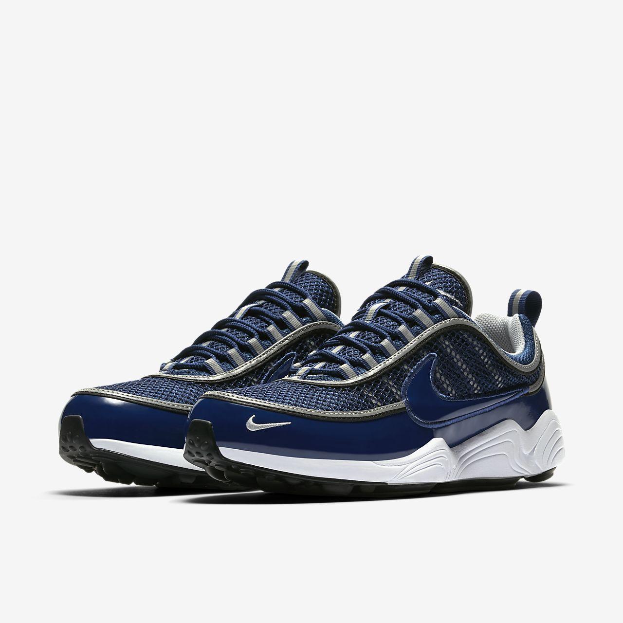 Nike Zoom Span 2, Chaussures de Running Homme, Noir (Noir/Argent Métallique/Gris Foncé/Blanc), 45.5 EU