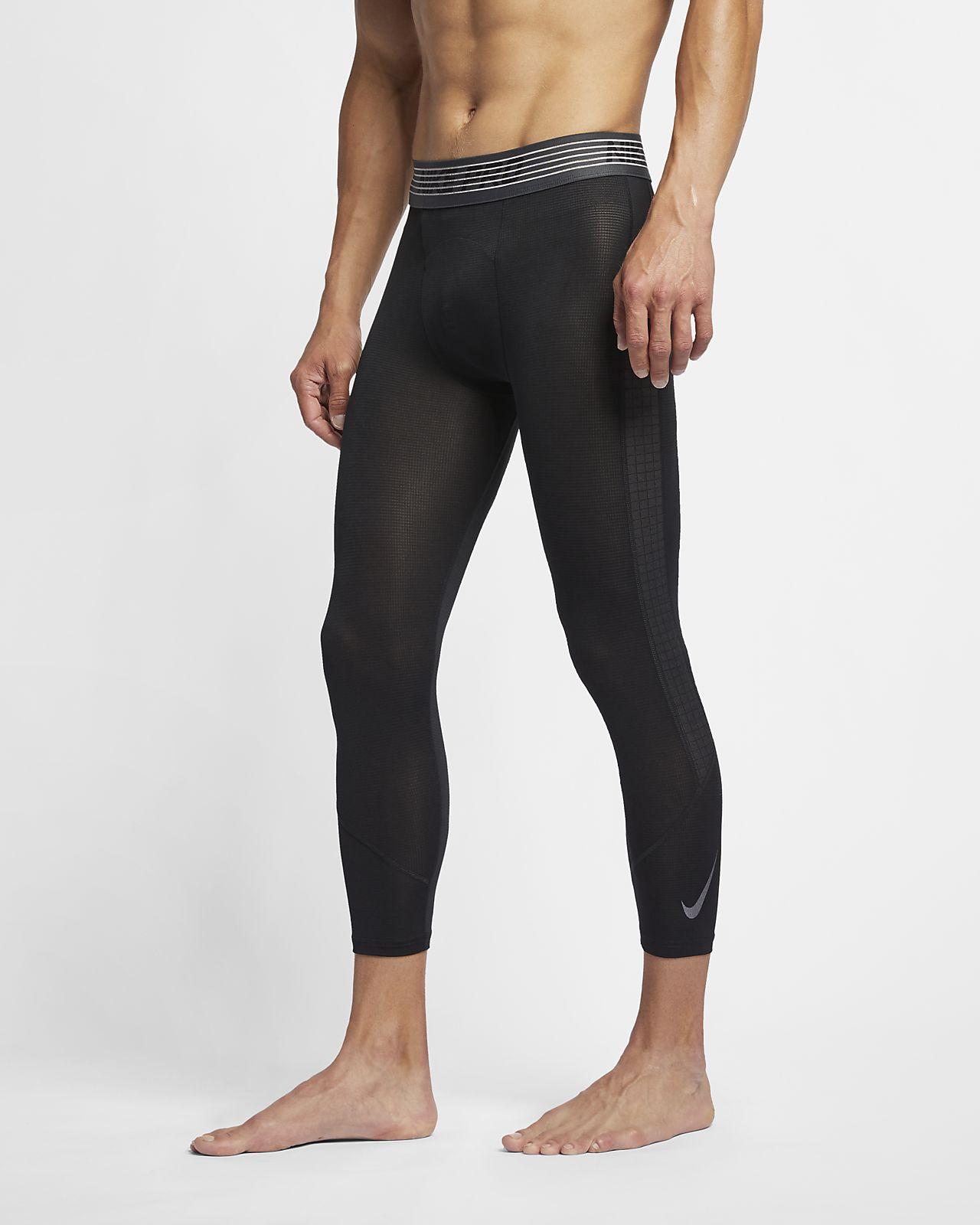 Мужские тайтсы длиной 3/4 Nike Pro