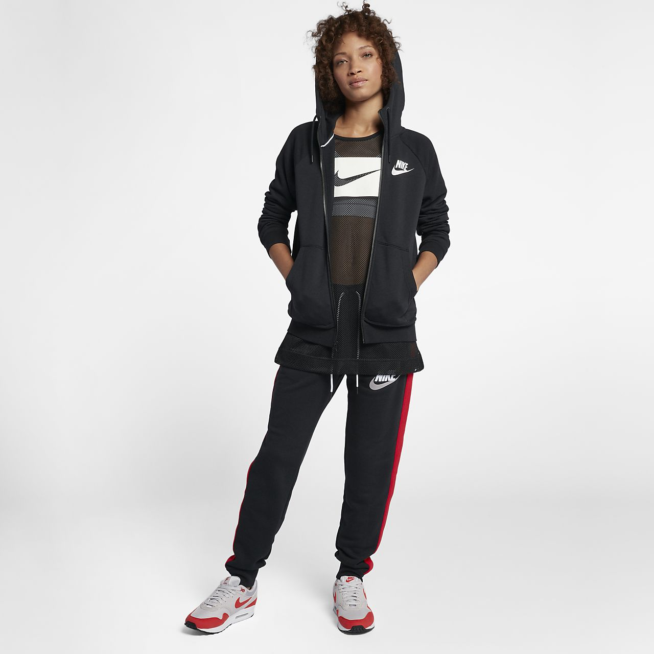 a0dec6fc9103 Nike Sportswear Rally Women s Full-Zip Hoodie. Nike.com GB