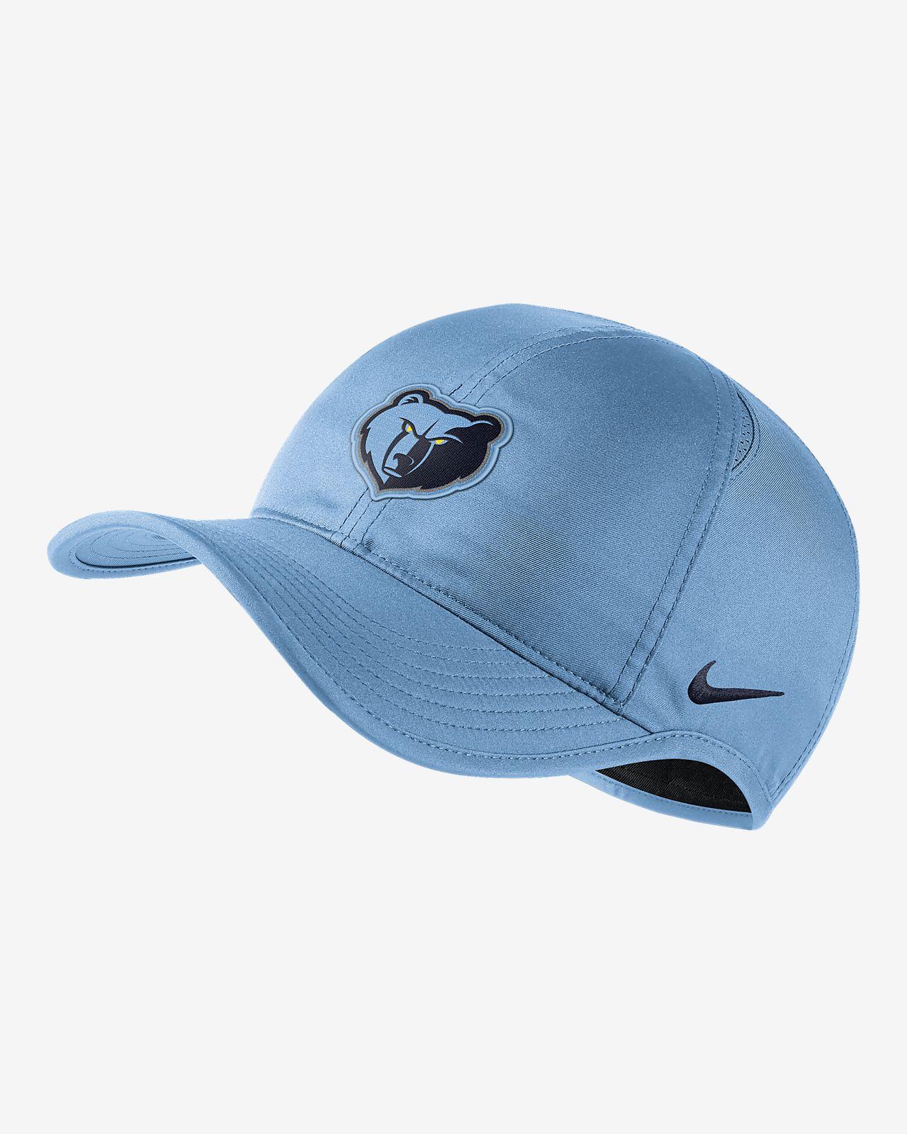 Memphis Grizzlies Nike AeroBill Featherlight NBA Hat. Nike.com 9619fe98437
