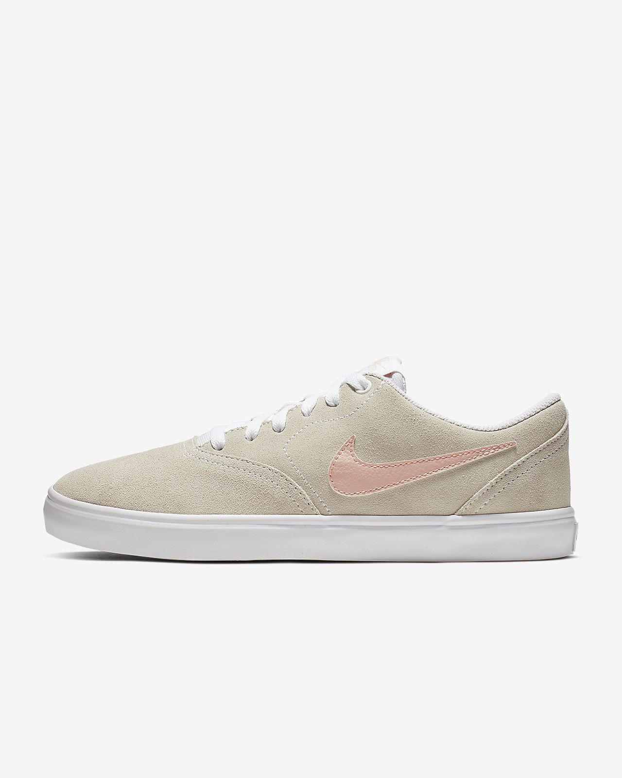 รองเท้าสเก็ตบอร์ดผู้หญิง Nike SB Check Solarsoft