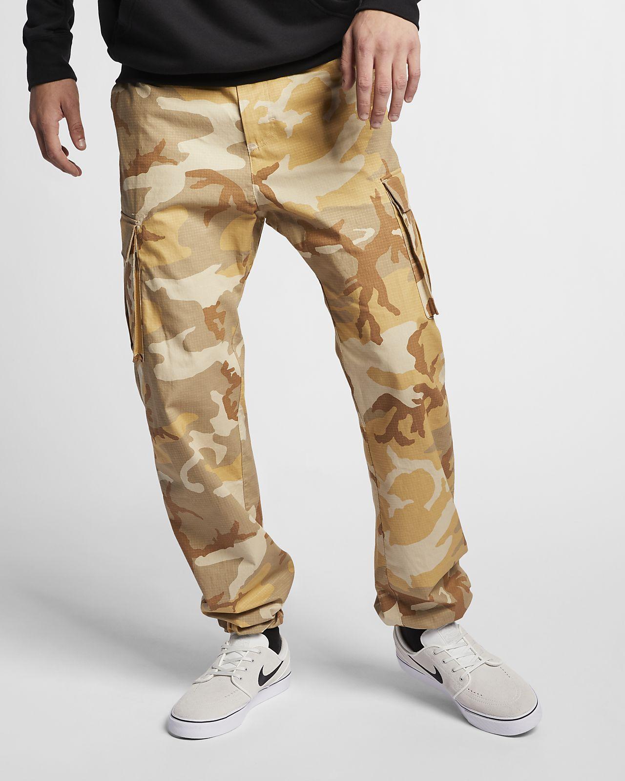 Skateboardbyxor Nike SB Flex FTM med kamouflagemönster