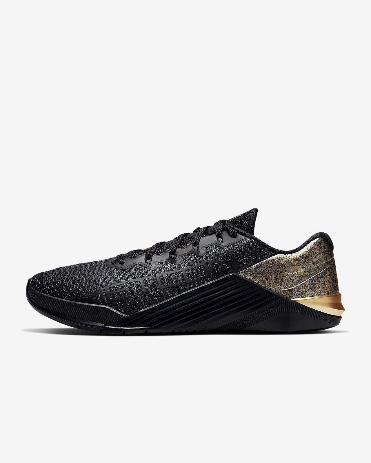 Nike Metcon 5 Black x Gold Trainingsschuh