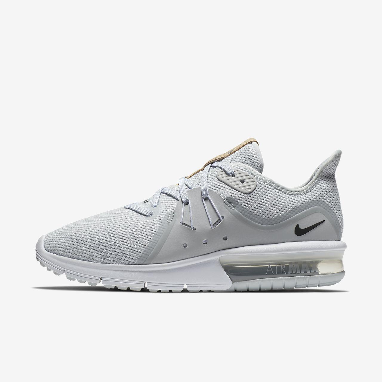 Nike Séquent Air Max 3 Noir Gris Foncé
