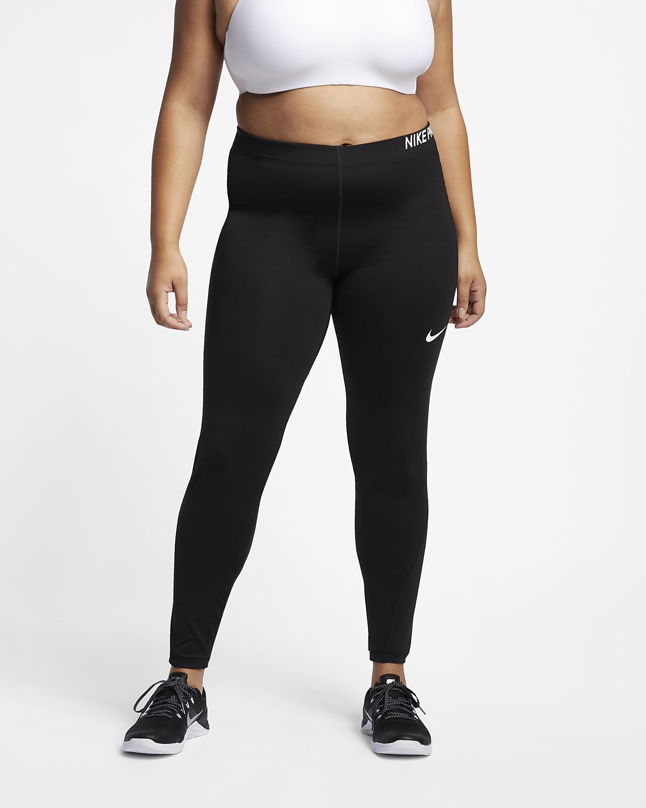 6bbcec1f7c Nike Pro Women s Mid-Rise Training Tights (Plus Size). Nike.com GB