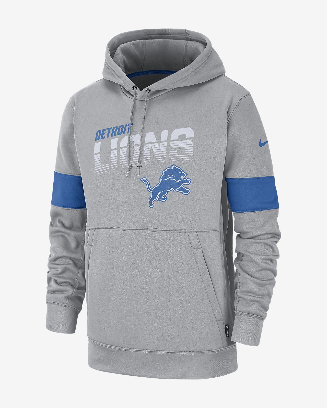 online retailer d59d8 8dcd4 Nike Therma (NFL Lions) Men's Hoodie
