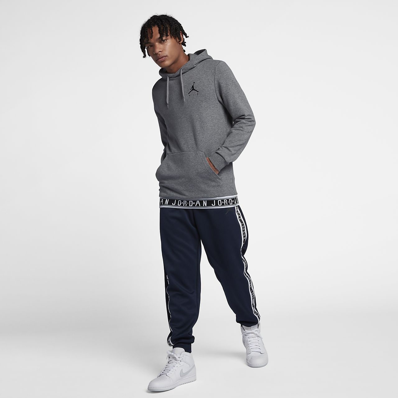 db69faf8efbabf Jordan Jumpman Air Men s Basketball Pullover Hoodie. Nike.com NO