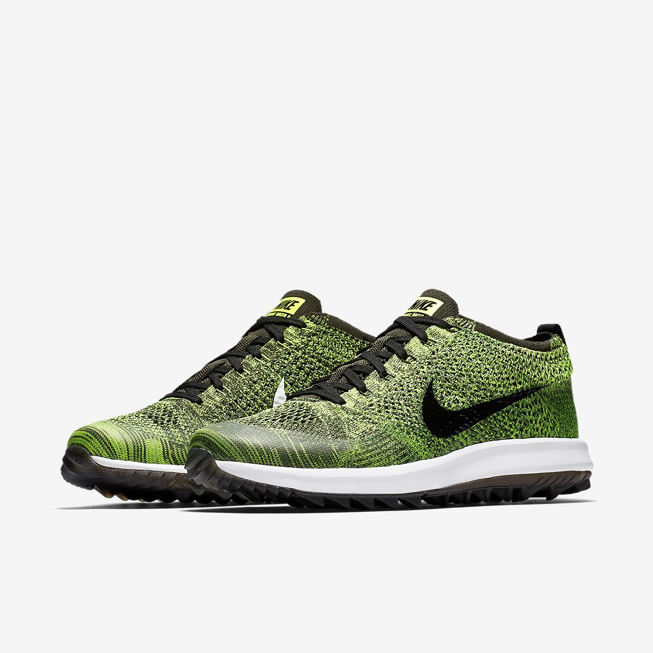 premium selection 72f35 49672 ... Nike Flyknit Racer G Mens Golf Shoe