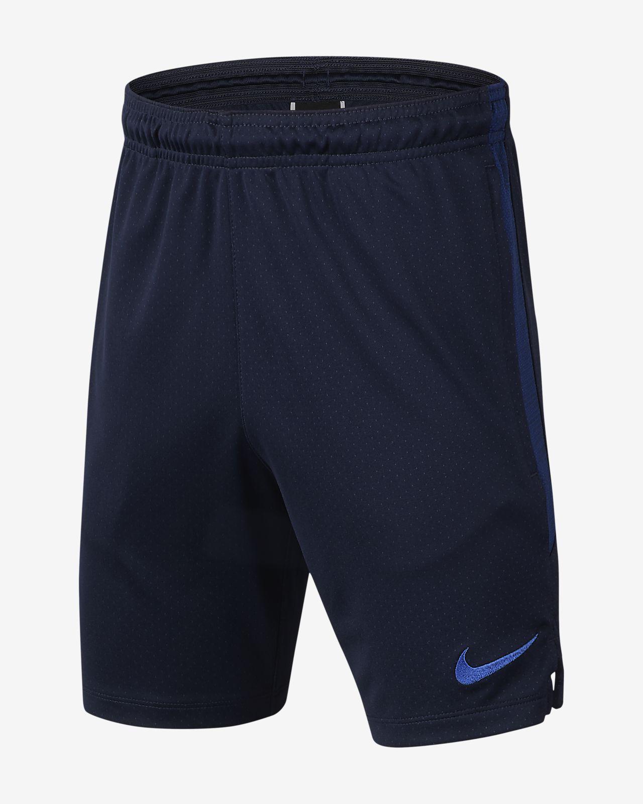 Fotbalové kraťasy Nike Dri-FIT Chelsea FC Strike pro větší děti