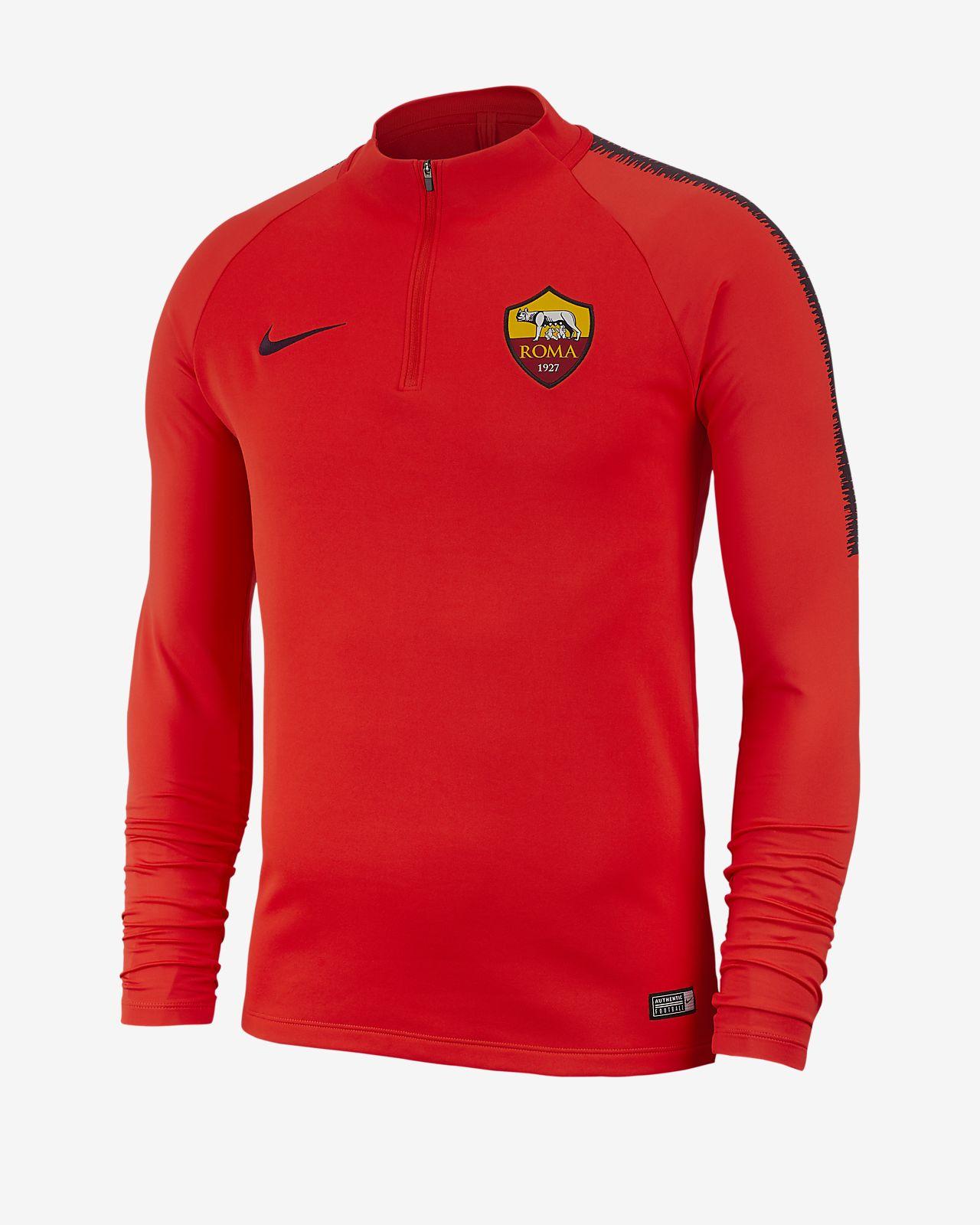 A.S. Roma Dri-FIT Squad Drill Men's Long-Sleeve Football Top