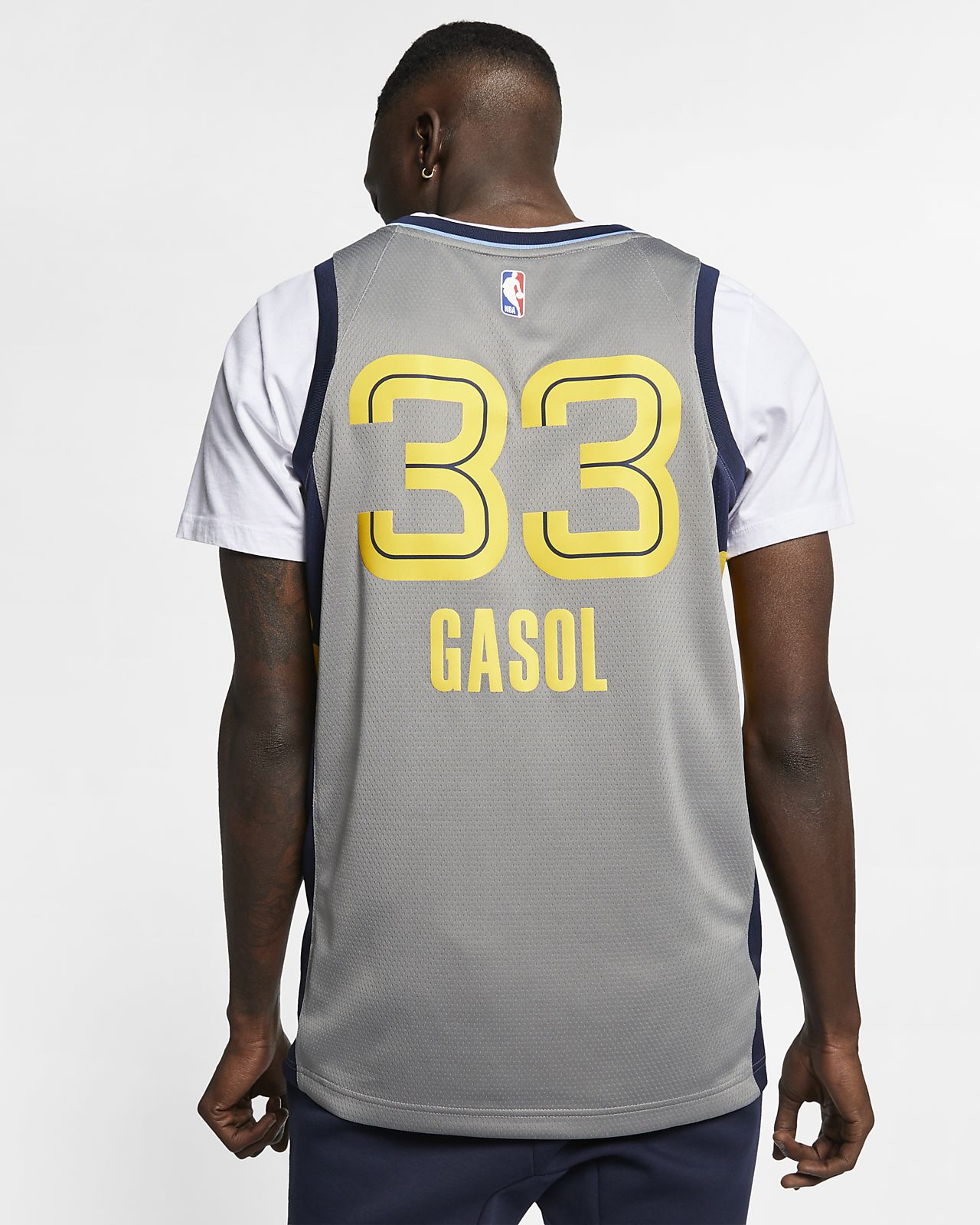 4bb021d97 ... Marc Gasol City Edition Swingman (Memphis Grizzlies) Men s Nike NBA  Connected Jersey