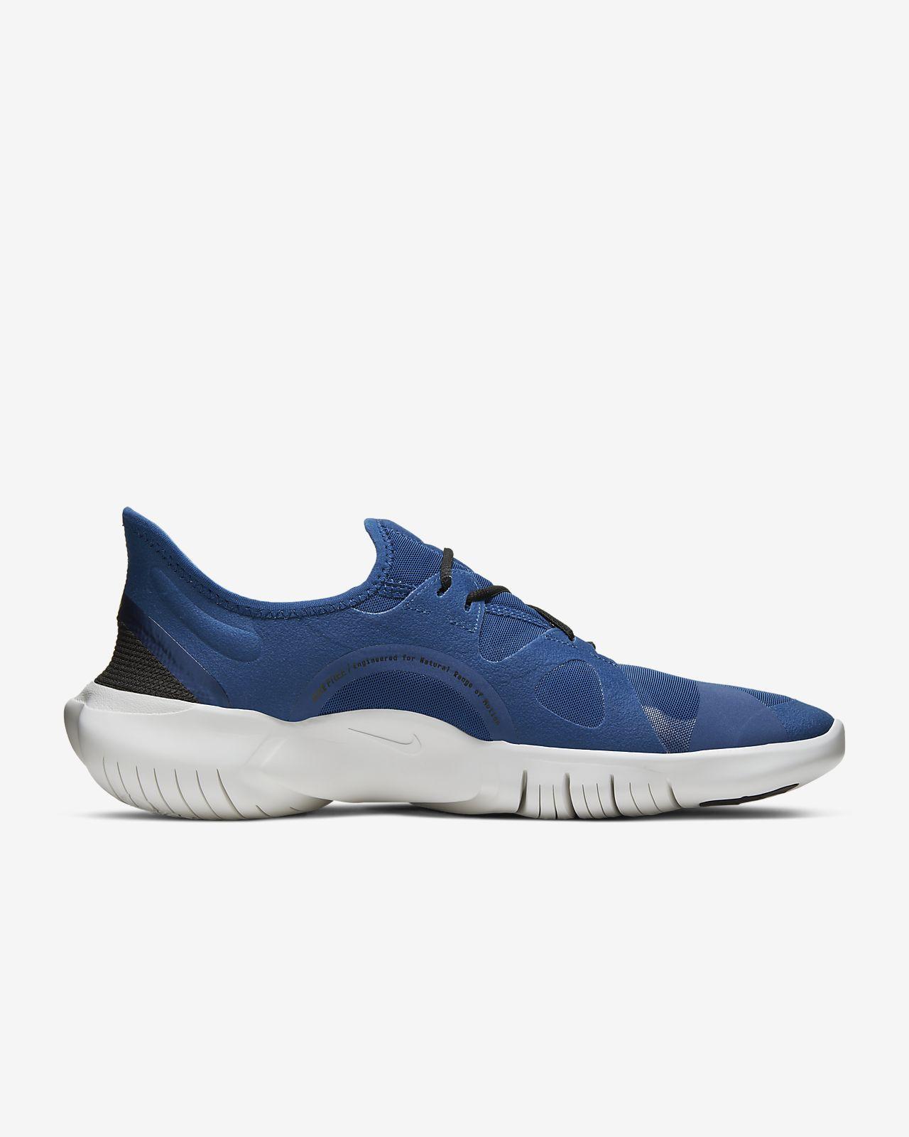 zapatillas nike free 5.0 mujeres para correr azul marino