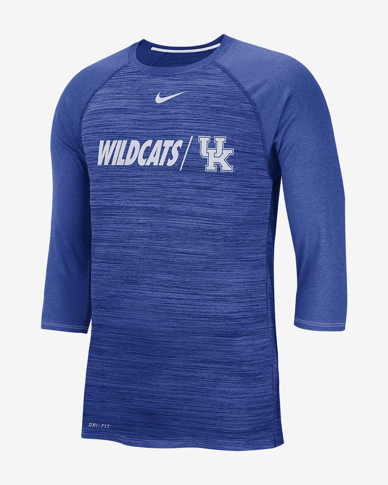 99cfee94 Nike College Dri-FIT Legend (Kentucky) Men's 3/4-Sleeve Top. Nike.com
