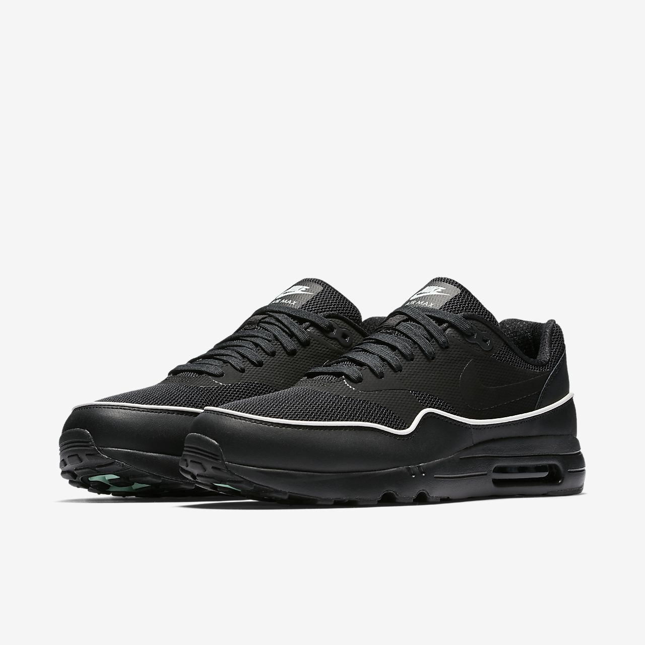 nike air max 1 ultra essential all black