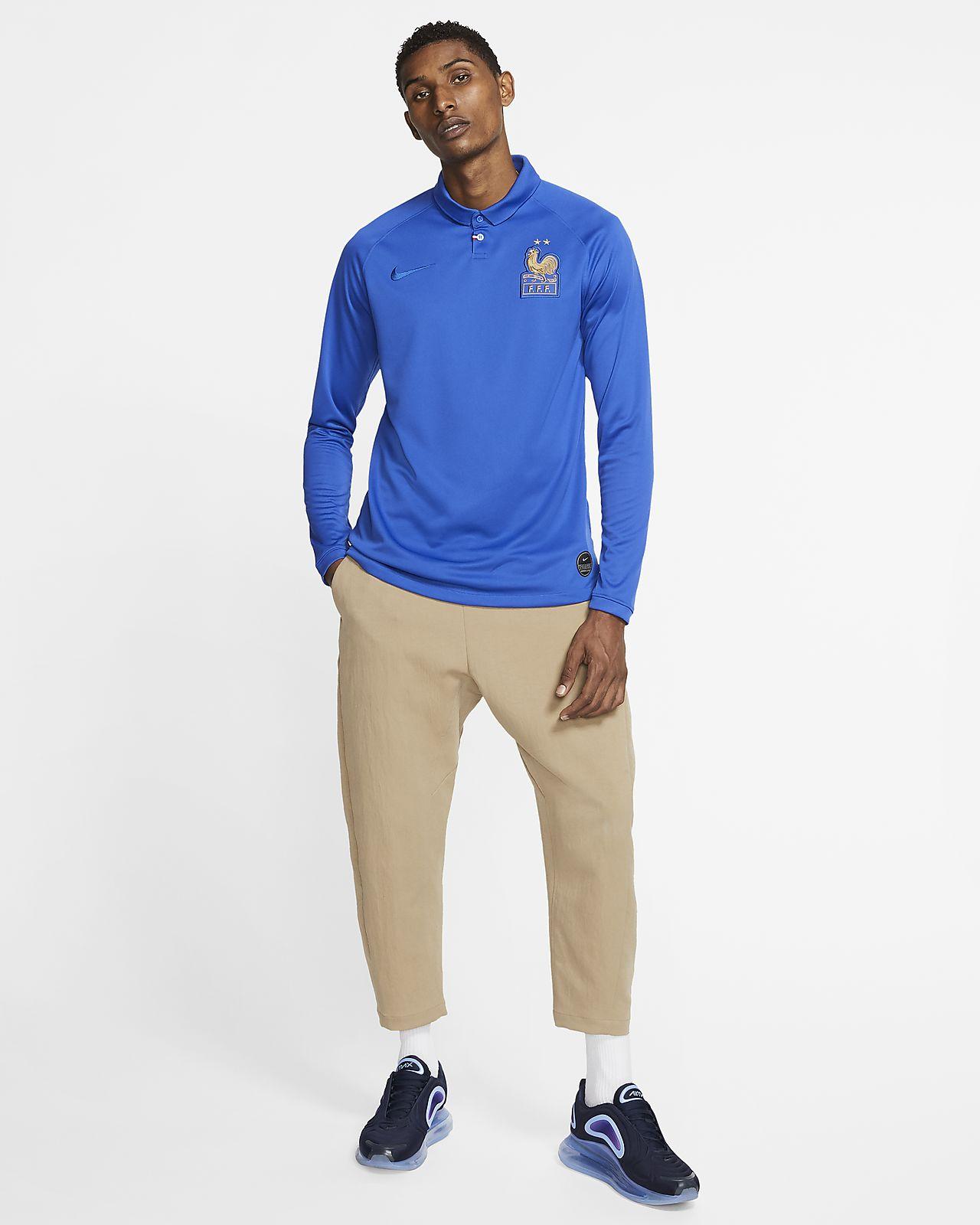 933395f5 FFF Stadium Centennial Men's Long-Sleeve Shirt. Nike.com LU