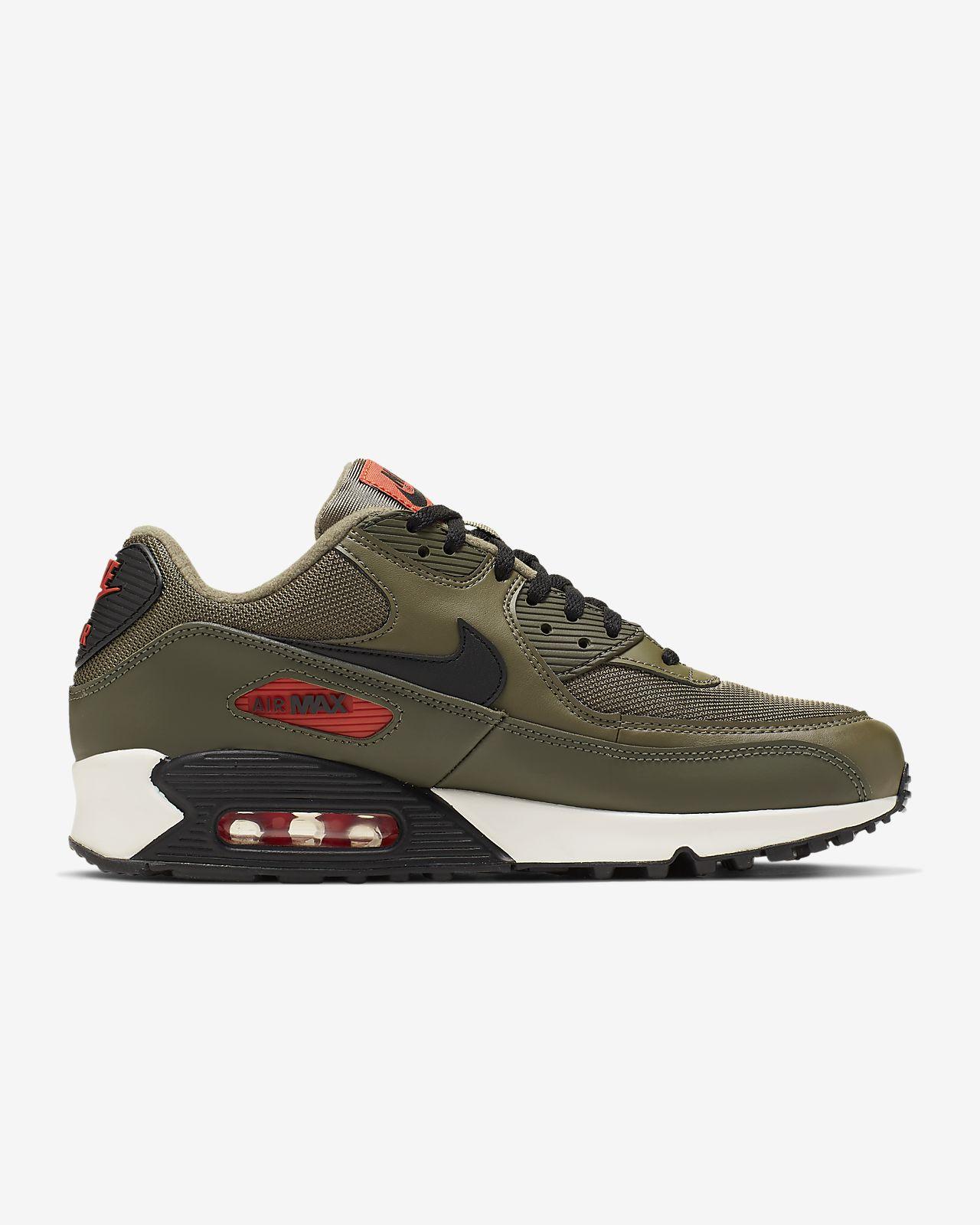 Nike Air max 90 ess homme kaki noir orange