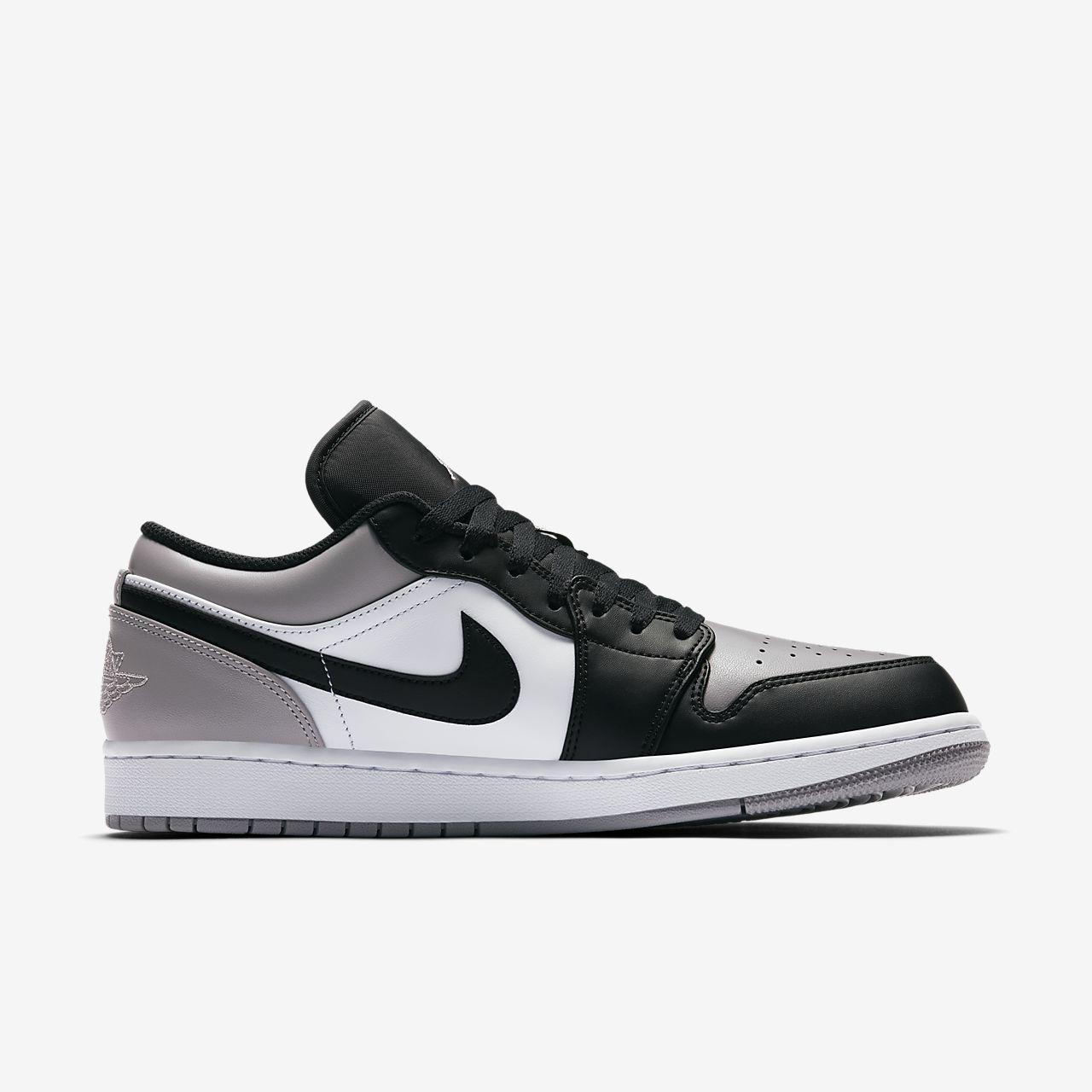 reputable site 69b99 8bfb2 Air jordan 1 i retro basket low cemento negro varsity rojo gray blanco  es74057 zapatos comprar
