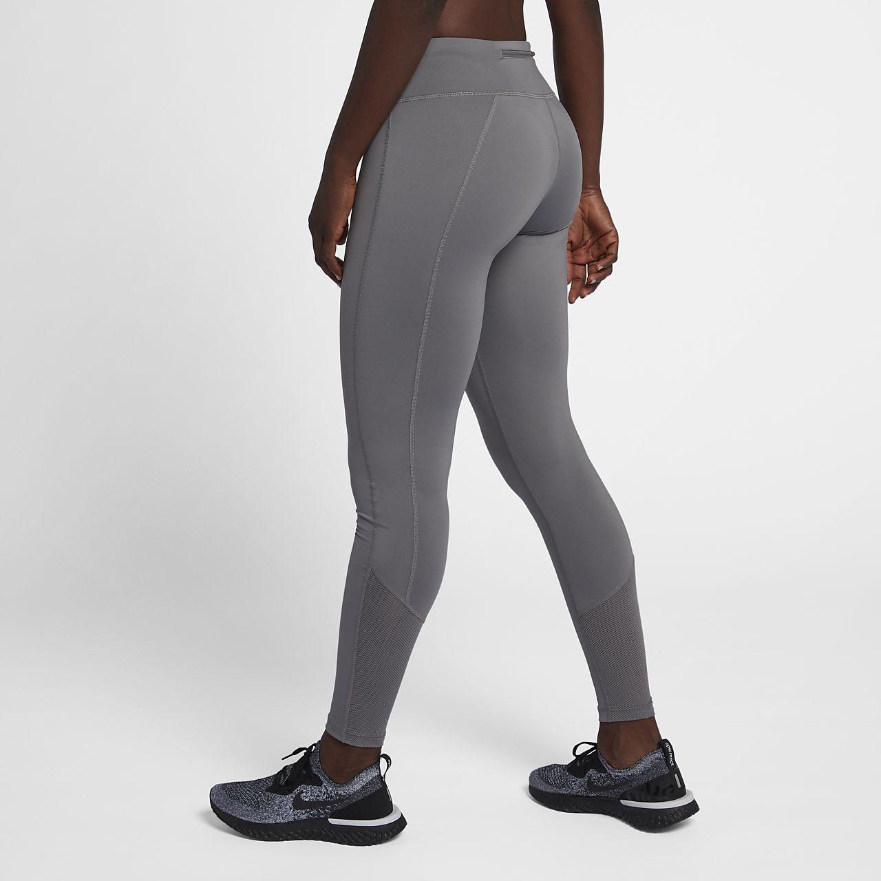 กางเกงวิ่งรัดรูปผู้หญิง Nike Racer