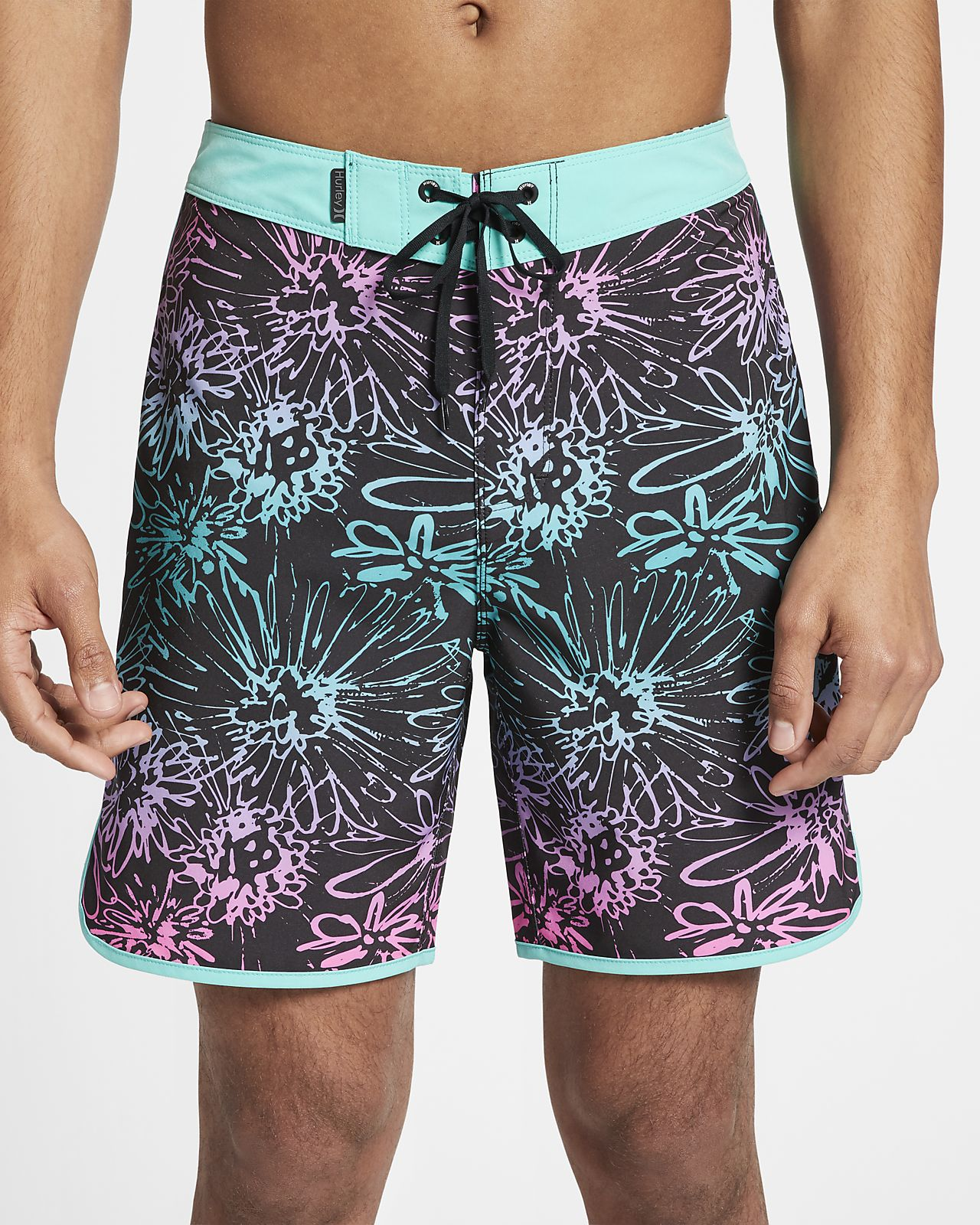 Shorts de playa de 46 cm para hombre Hurley Phantom Sweet Left