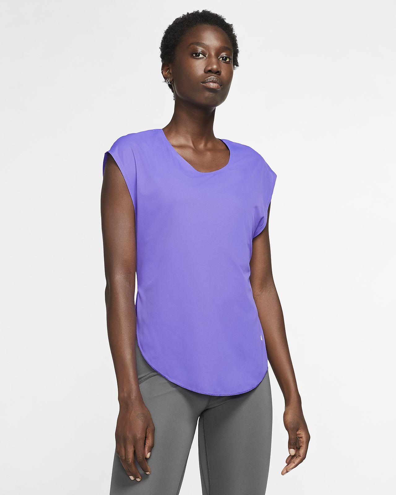 Женская беговая футболка Nike City Sleek