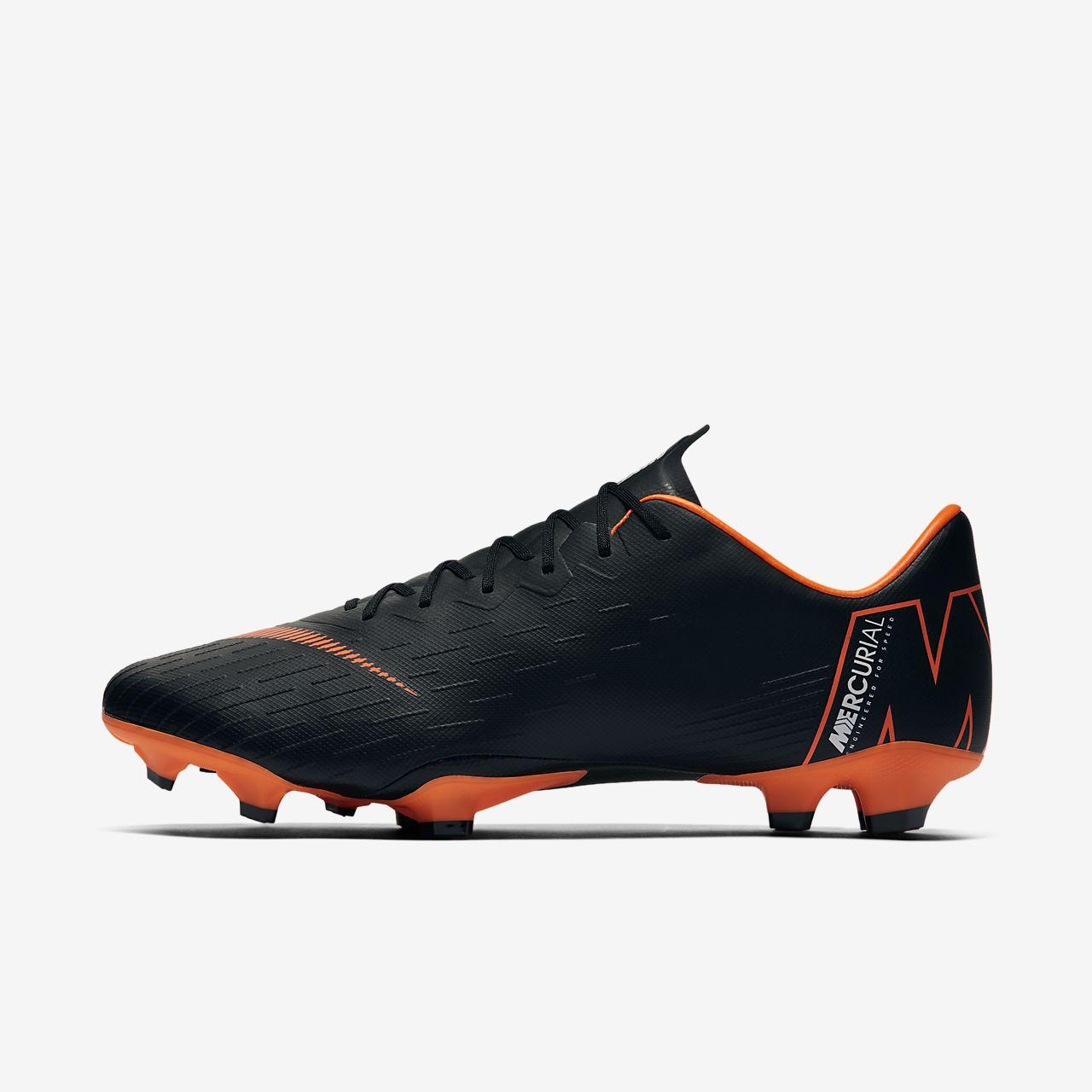 Nike Mercurial Vapor XI Firm-Ground Women's Football Shoes Black iY6229U