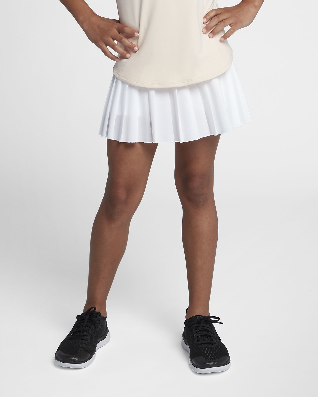 NikeCourt Victory-tennisnederdel til store børn (piger)