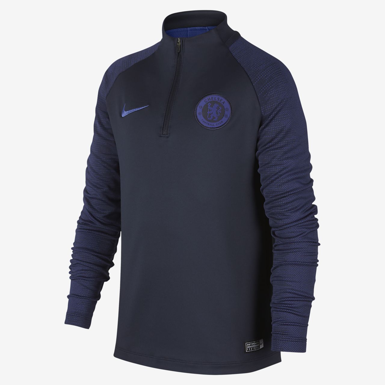 Chelsea FC Strike Older Kids' Football Drill Top