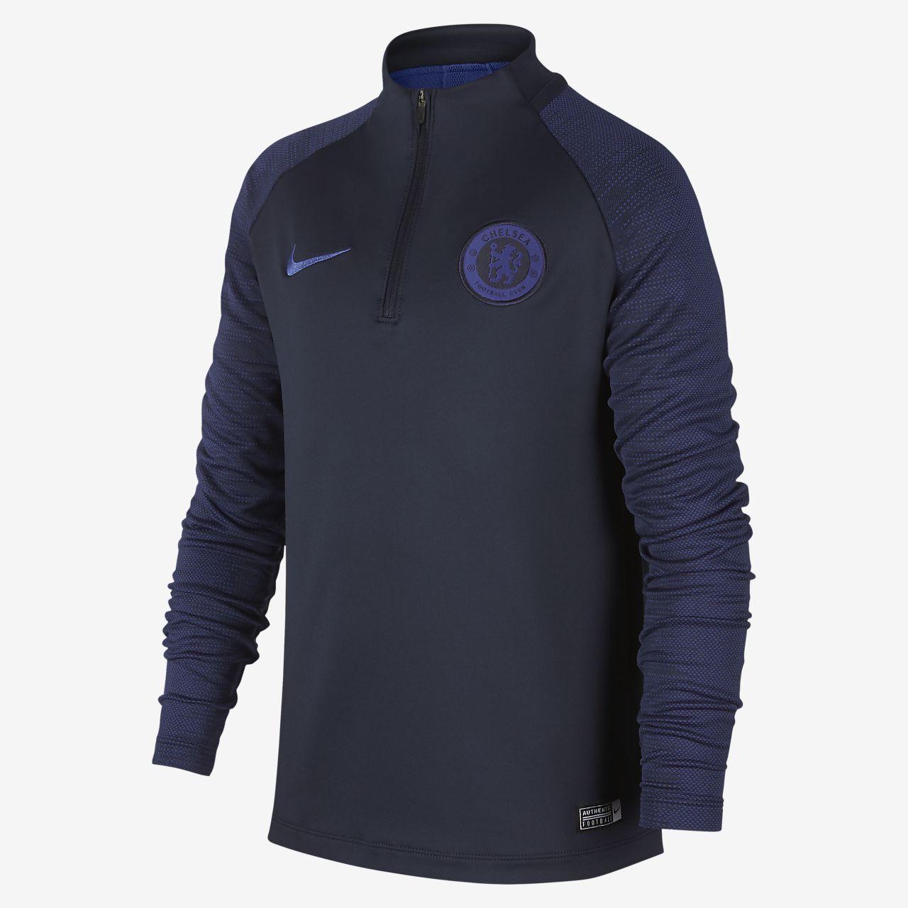 Prenda para la parte superior de entrenamiento de fútbol para niño talla grande Chelsea FC Strike