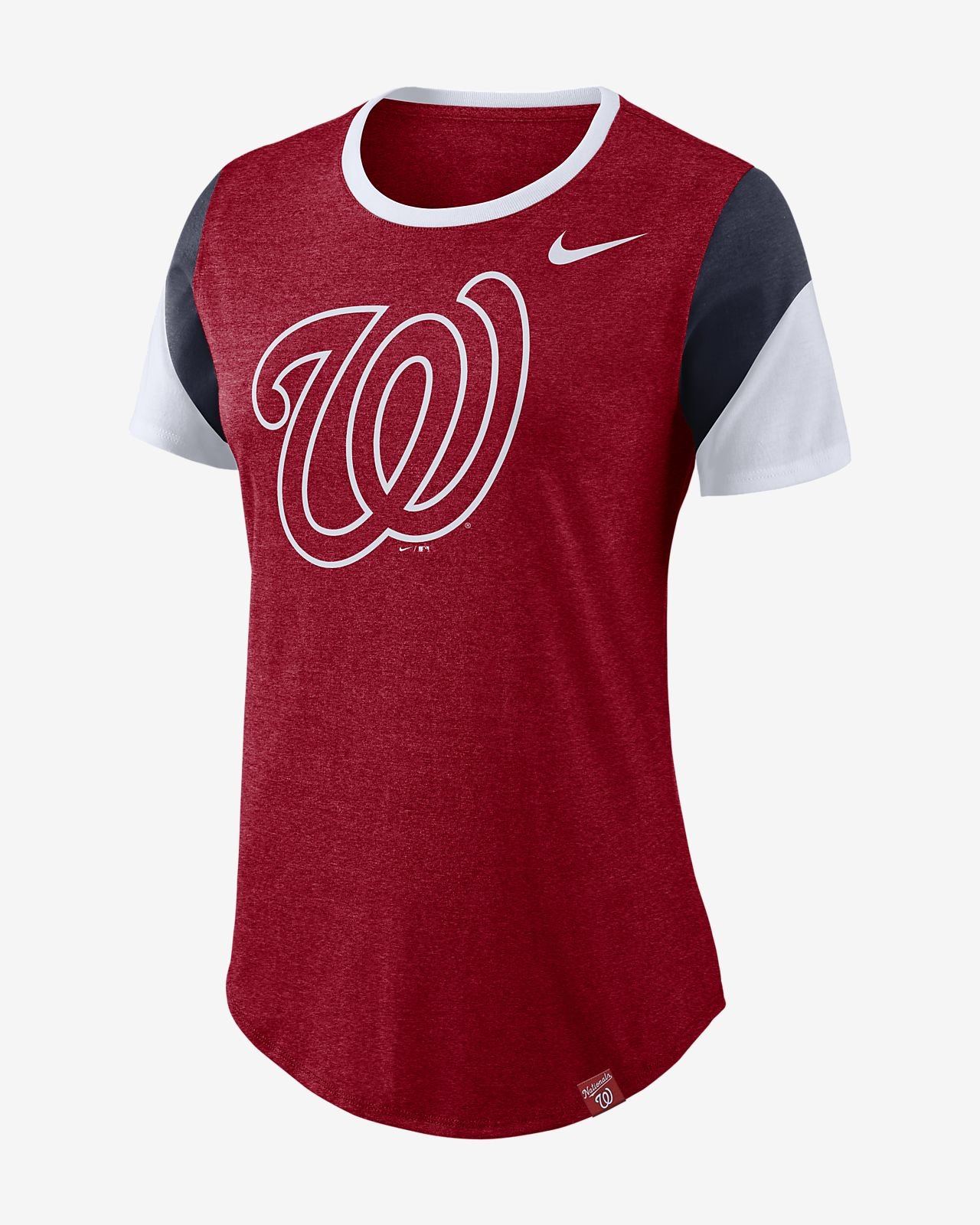 Nike Tri-Blend (MLB Nationals) Women s T-Shirt. Nike.com 97e96b944