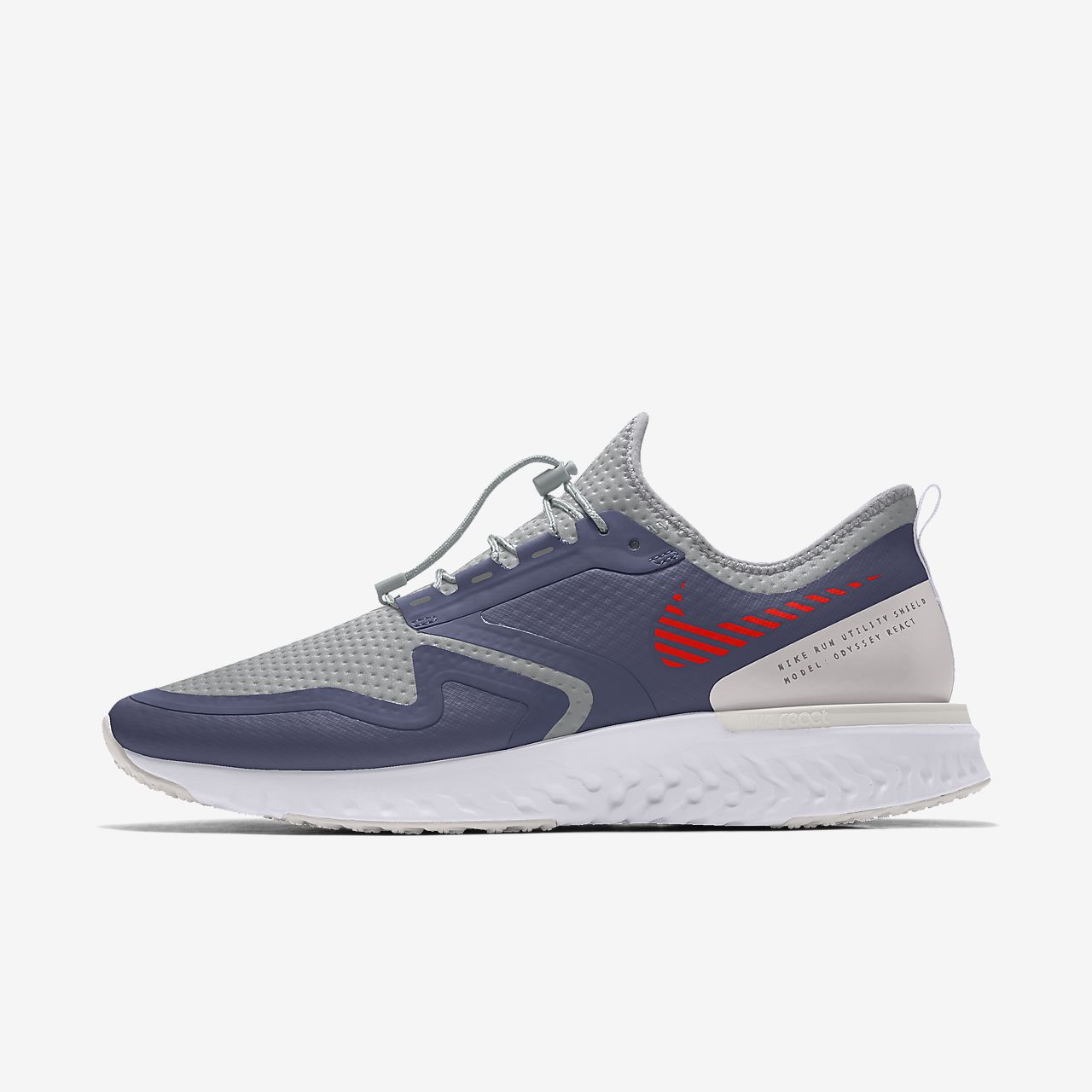 Scarpa da running personalizzabile Nike Odyssey React Shield By You - Donna