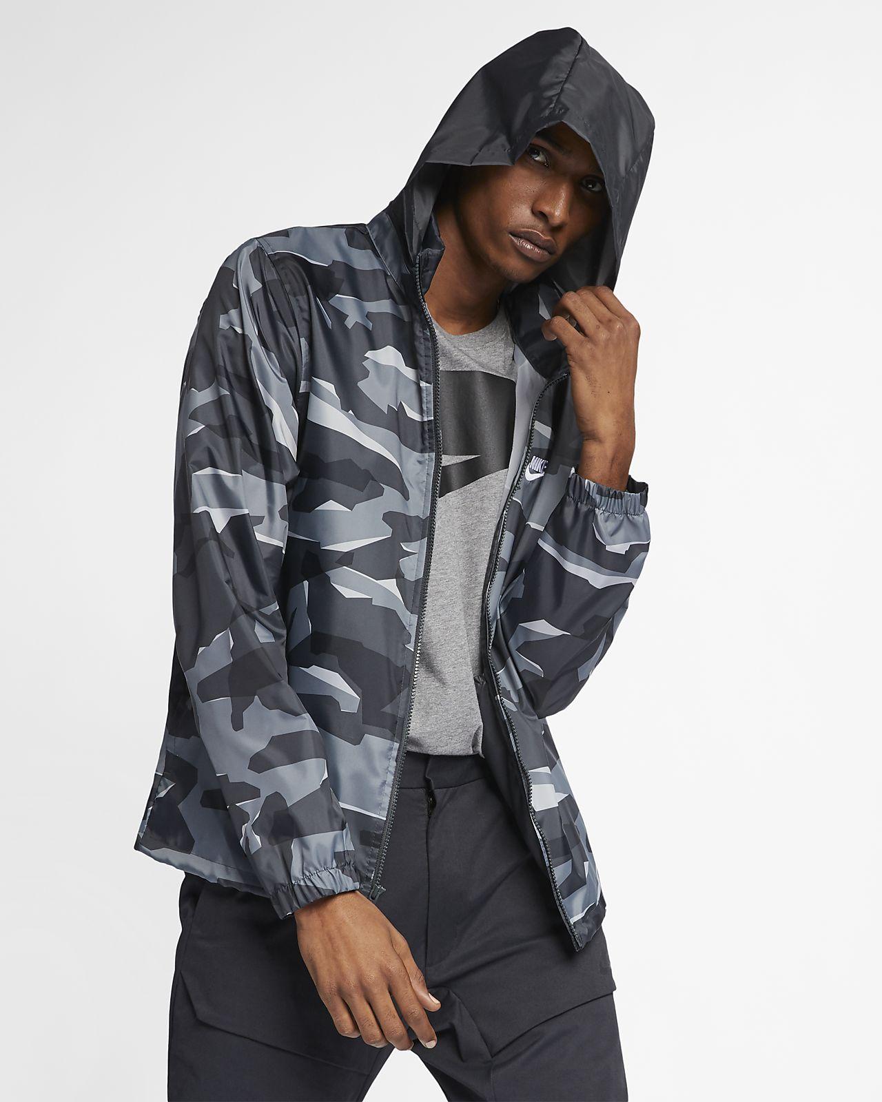 nike veste camouflage femme