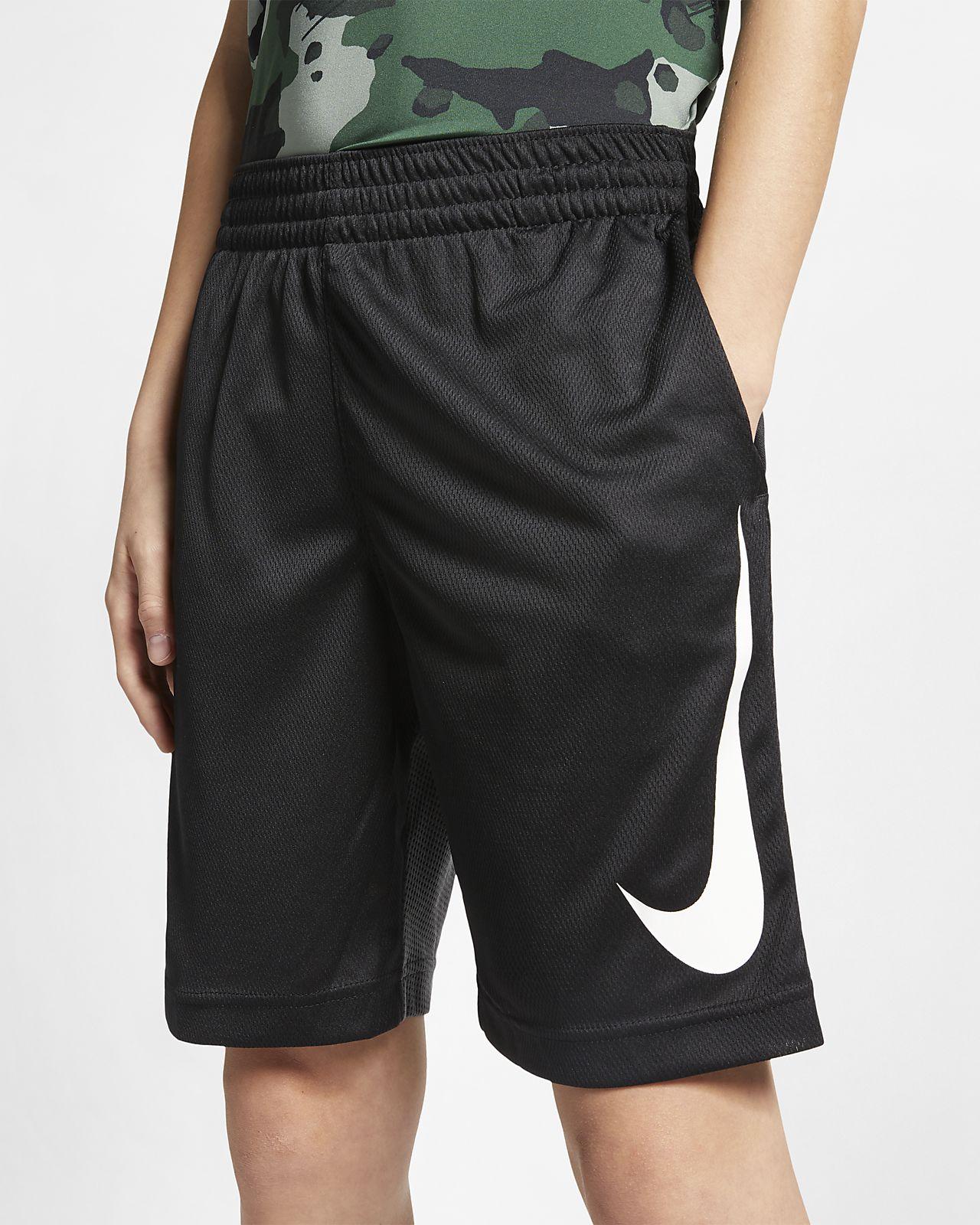 กางเกงบาสเก็ตบอลขาสั้นเด็กโต Nike Dri-FIT (ชาย)