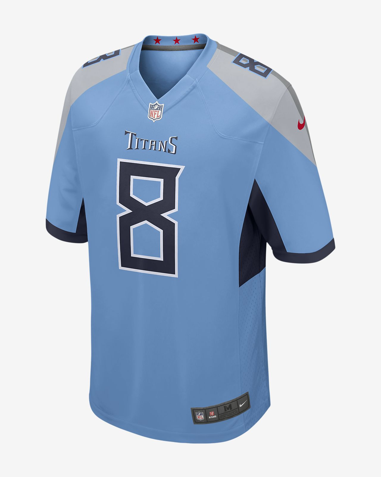 77111325751 NFL Tennessee Titans (Marcus Mariota) Men's Game Football Jersey ...