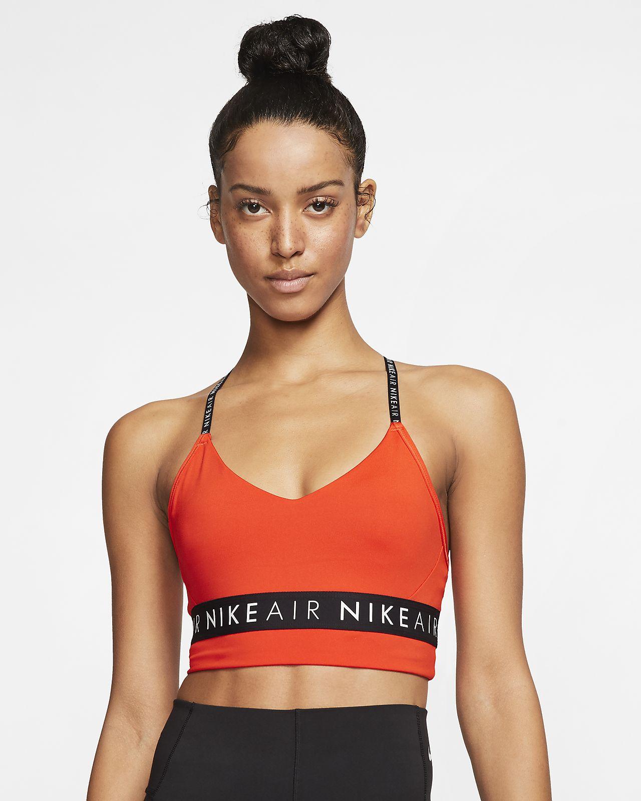 Sportovní podprsenka s lehkou oporou Nike Air Indy