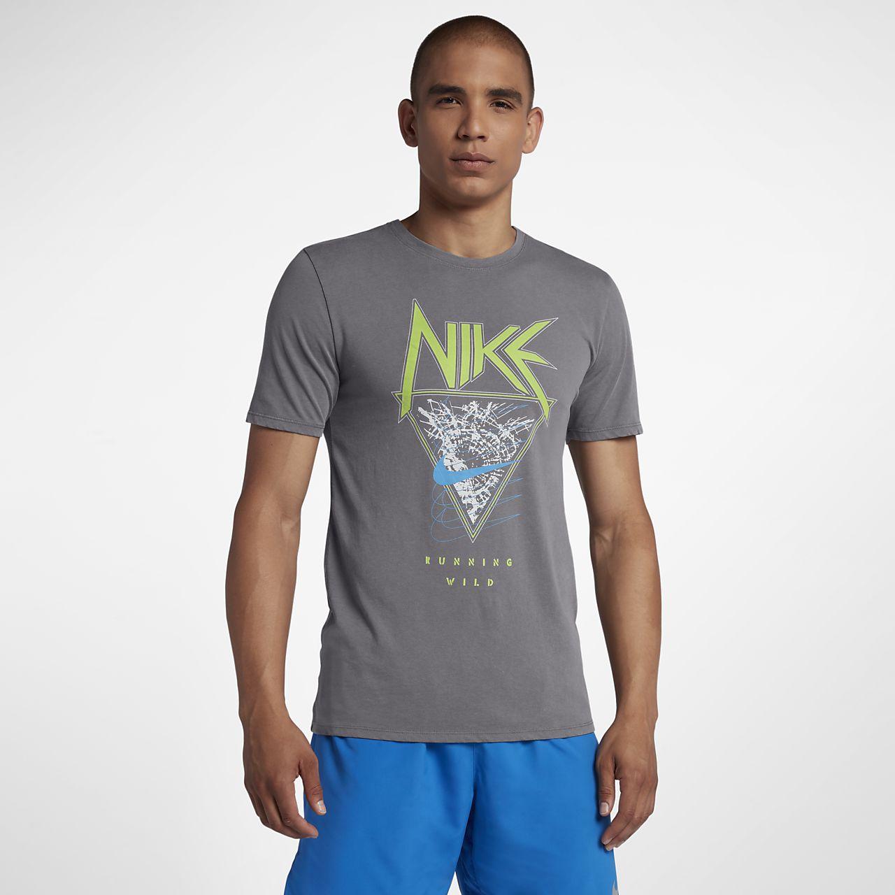 FIT T Lauf Shirt für Nike Herren Dri lKF1cJ