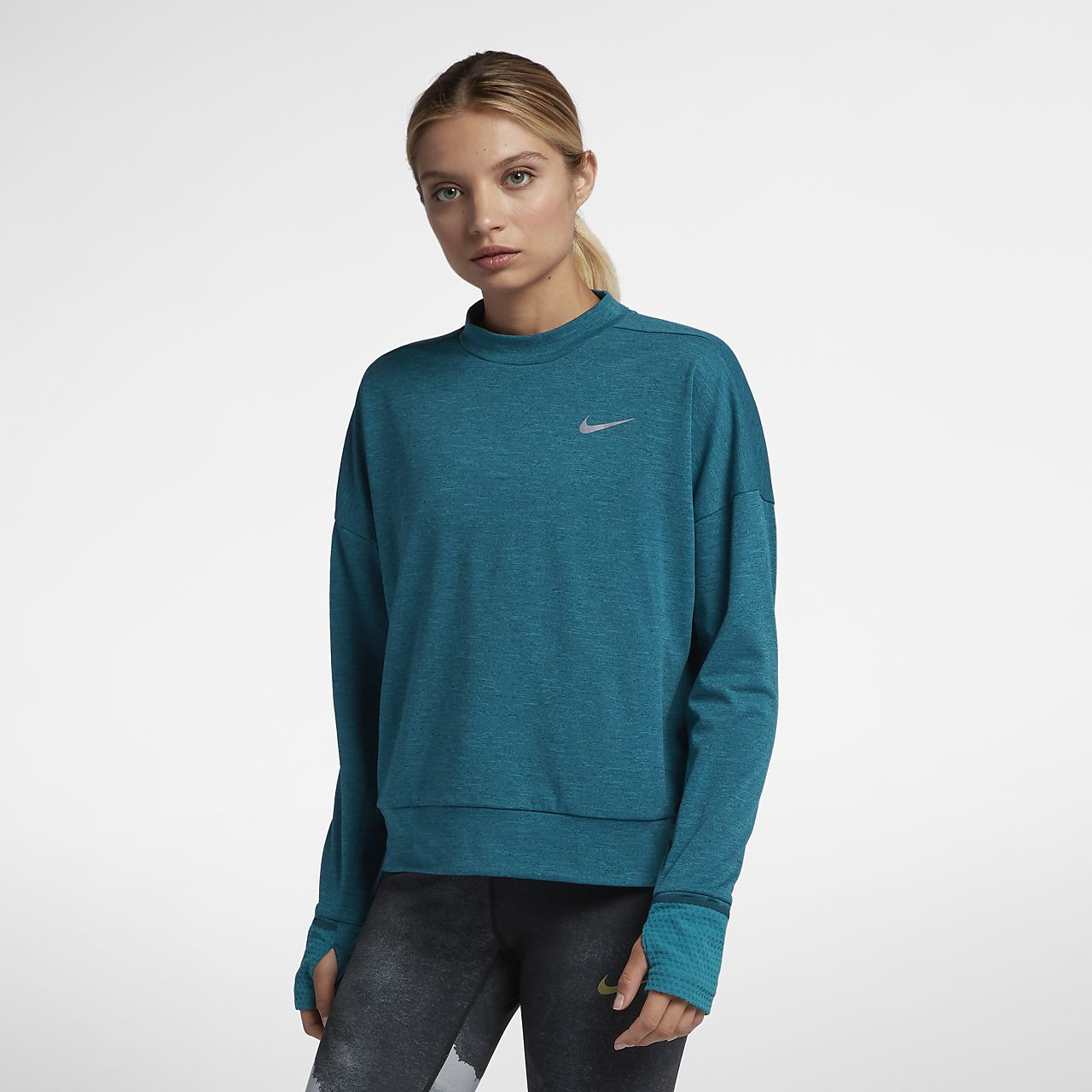 Nike ThermaElement 女子长袖跑步上衣
