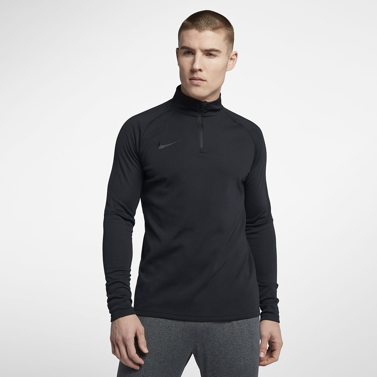 bfbf78688a01 Nike Dri-FIT Academy Men s 1 4 Zip Football Drill Top. Nike.com DK