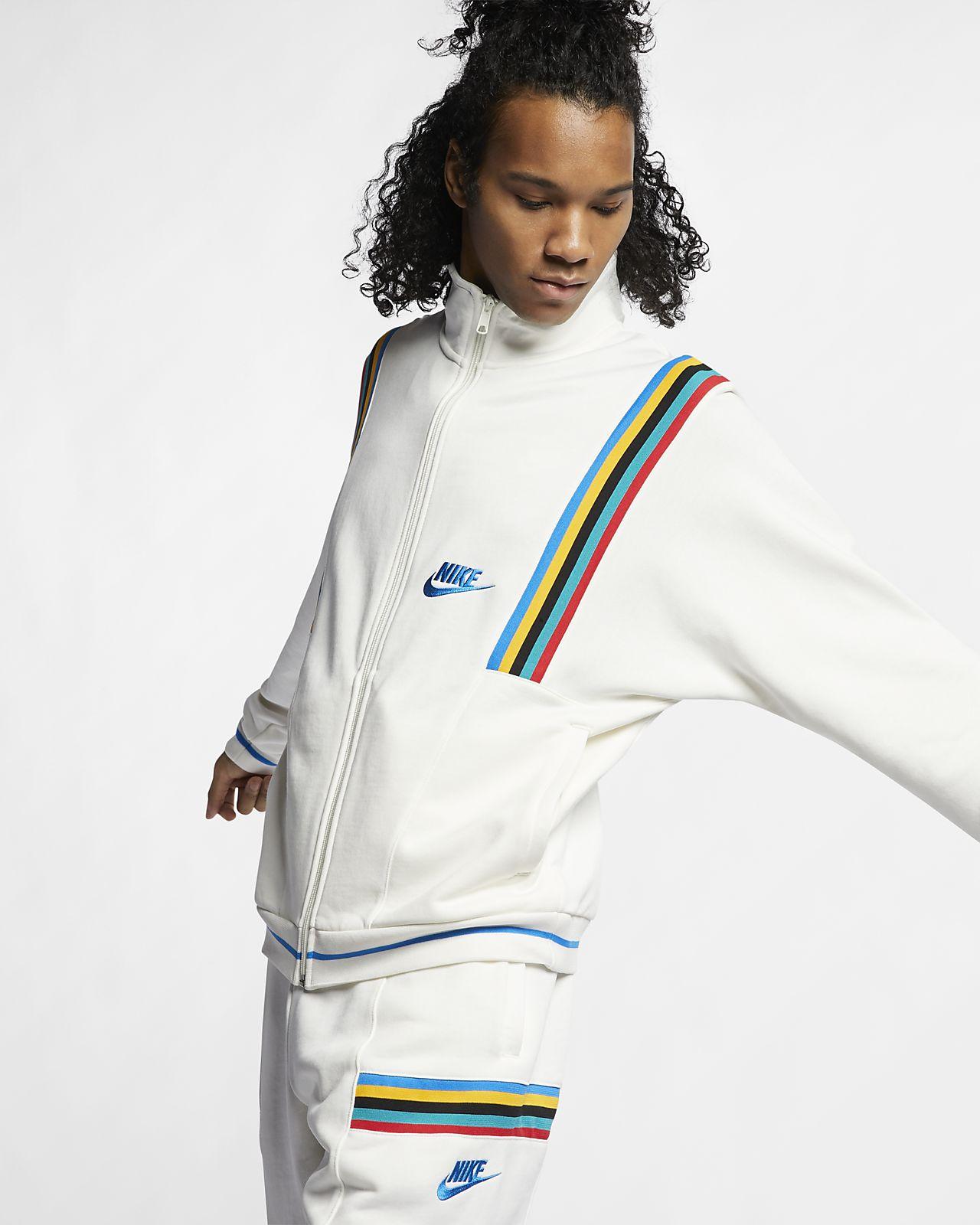 Giacca in French Terry Nike Sportswear
