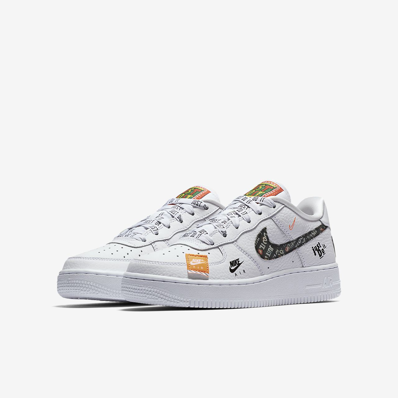 nike air force 1 just do it enfant