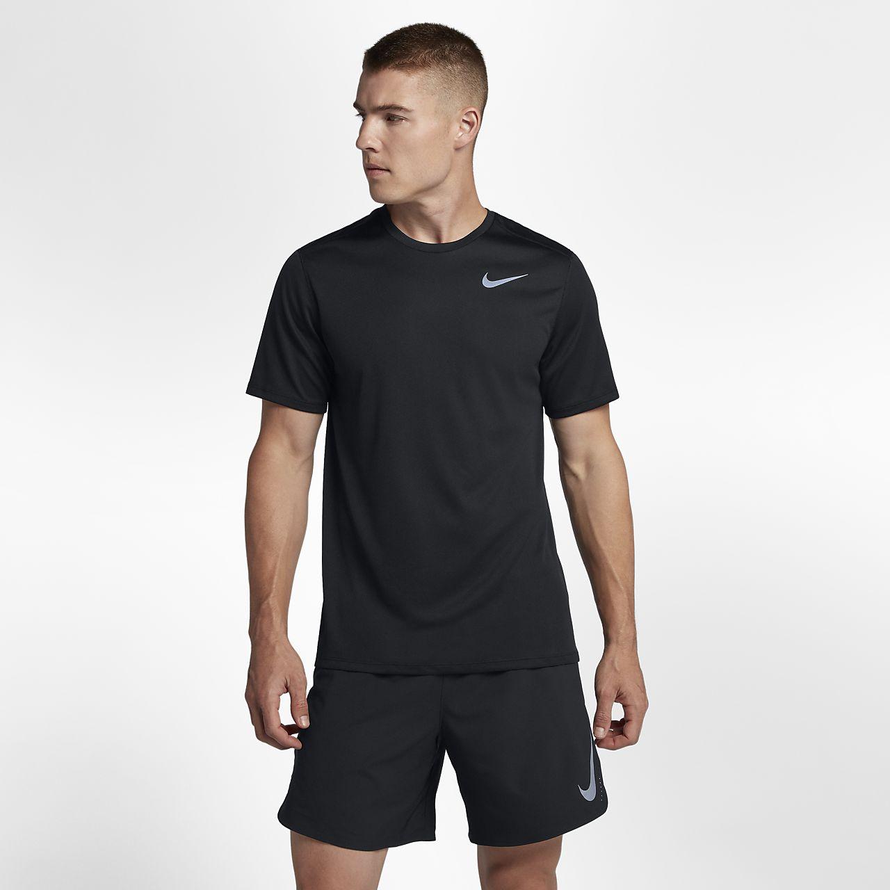Haut de running Nike Breathe pour Homme