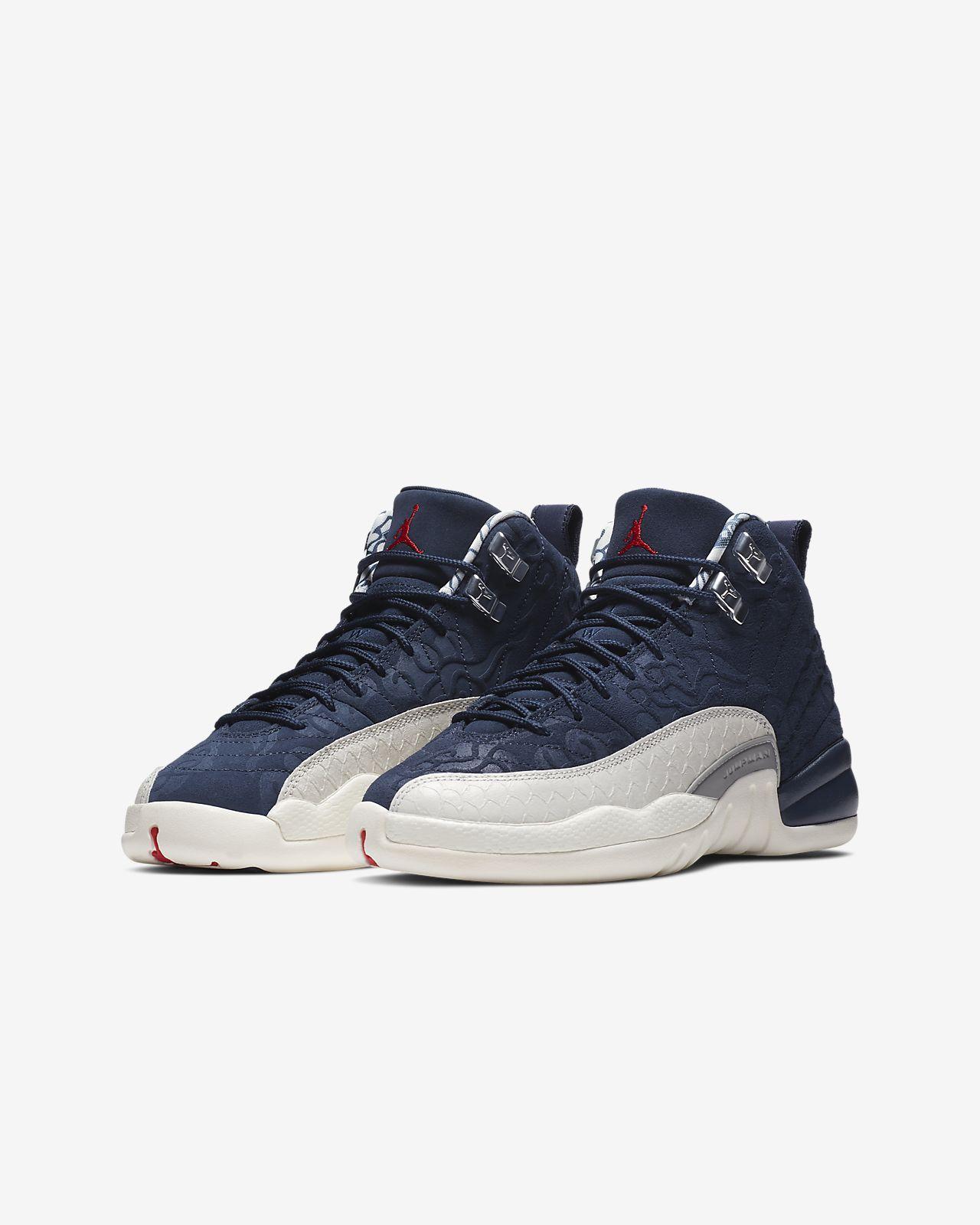 496de53c8a6ab6 Air Jordan 12 Retro Premium Older Kids  Shoe. Nike.com ID
