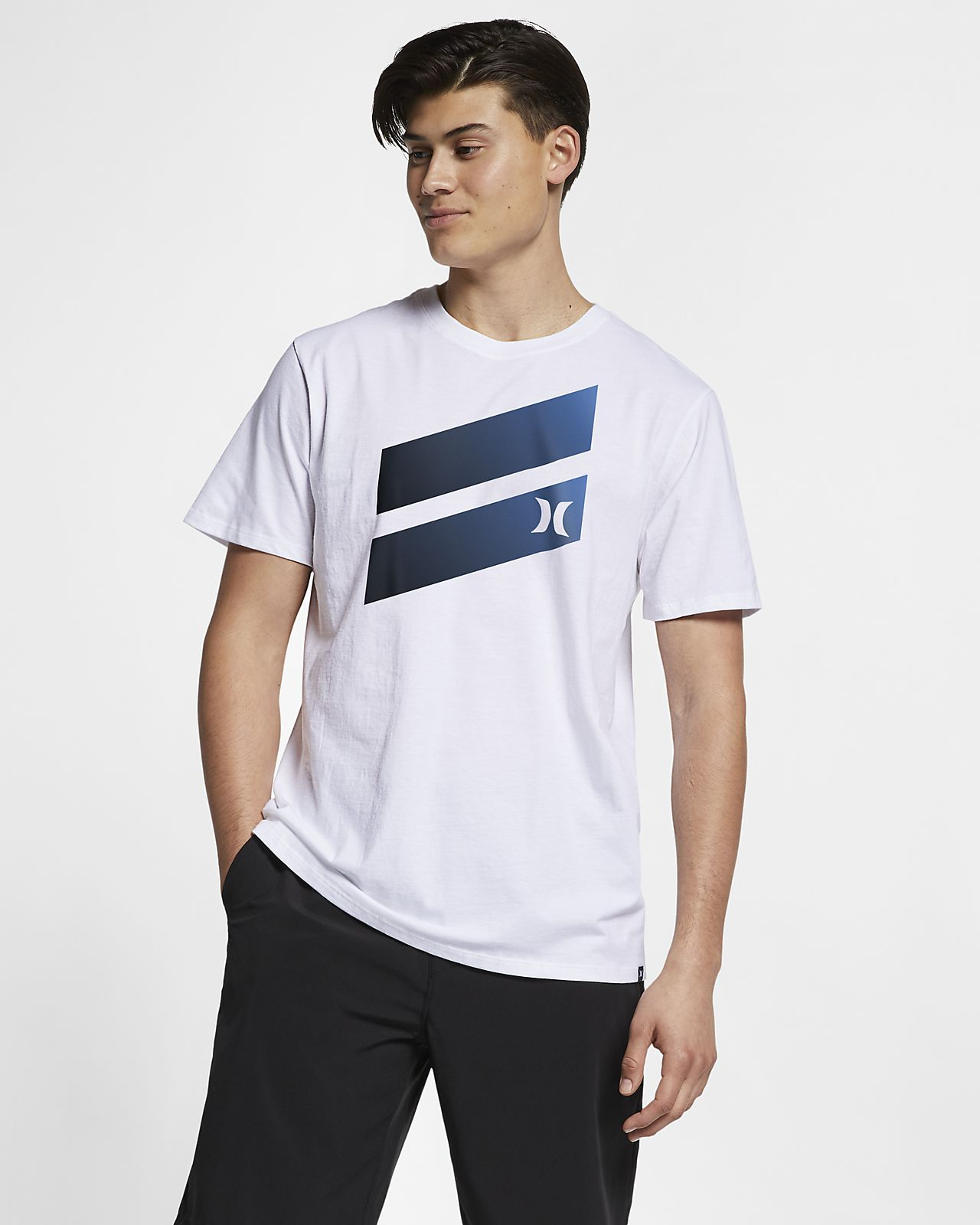 T-shirt Premium Fit Hurley Premium Icon Slash Gradient - Uomo