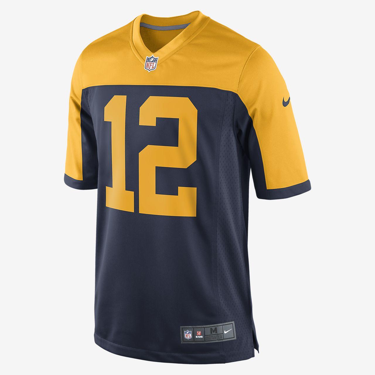 NFL Green Bay Packers (Aaron Rodgers) férfi amerikaifutball-mérkőzésmez