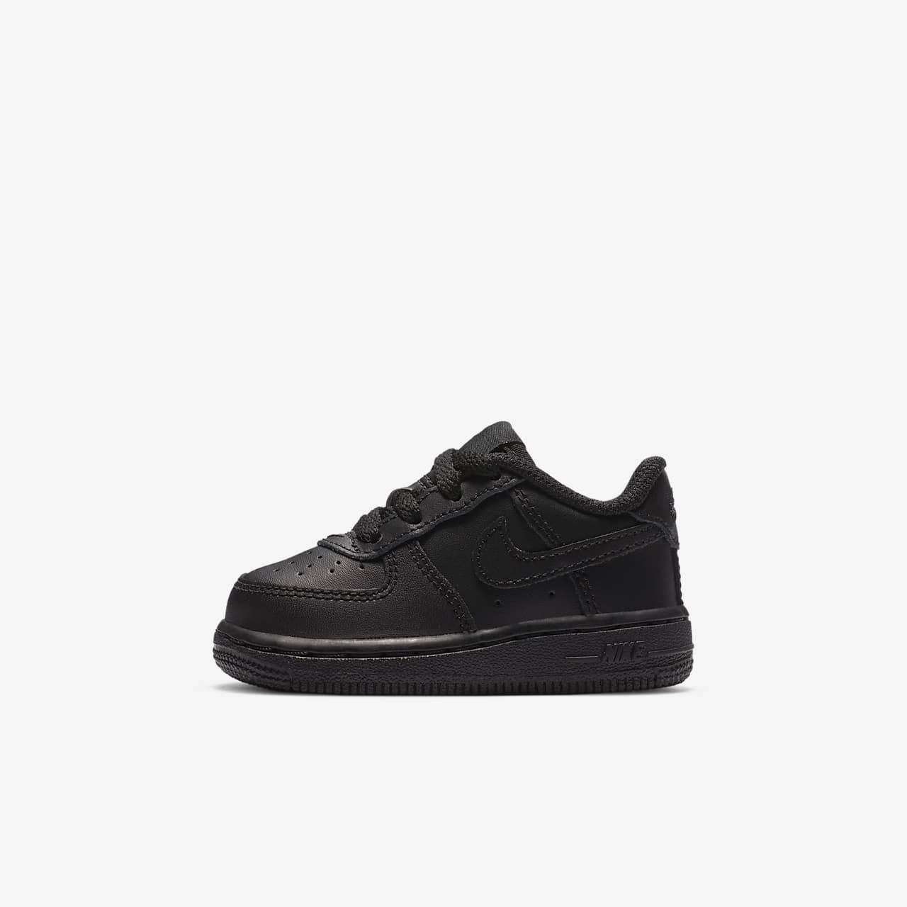 Nike Air Force 1 Girls Training Shoes Black/White gL1058X