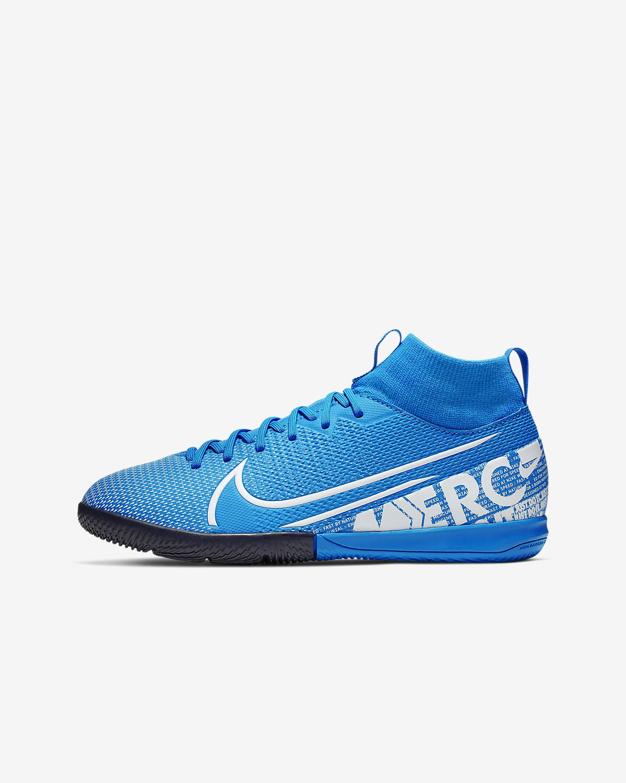 purchase cheap b9c5c 7814a Nike Jr. Mercurial Superfly 7 Academy IC Kids' Indoor/Court Football Shoe