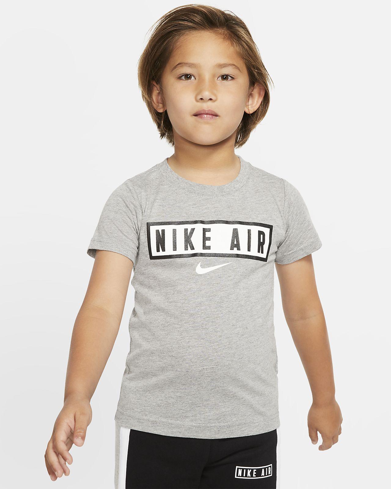 T-shirt de manga curta Nike Air para criança