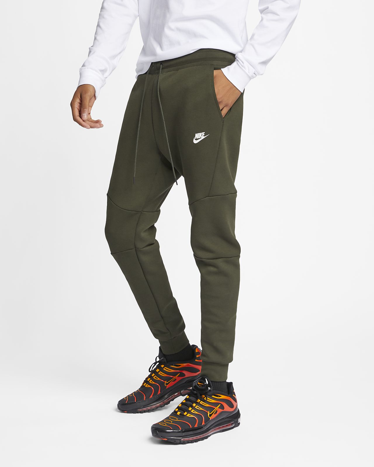 Jogging Be Tech Fleece Homme De Pour Nike Sportswear Pantalon 815Aw5